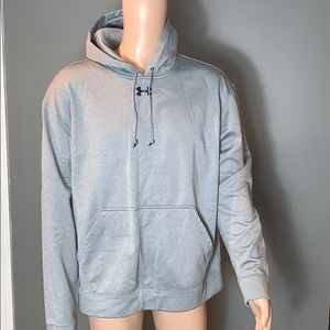 Under Armour Mens Gray Hoodie SZ.L